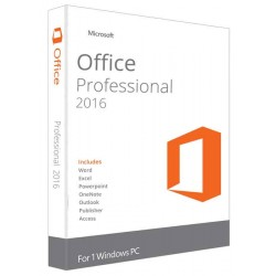 Microsoft Office Professional 2016 Global License Product Key – Digital Download-ESD