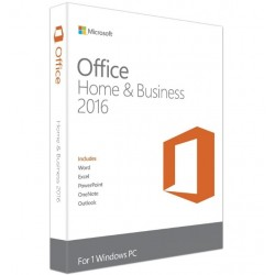 Microsoft Office Home and Business 2016 Global License Product Key– Digital Download-ESD