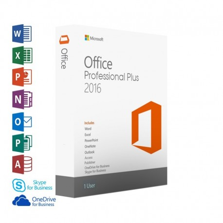 Microsoft Office Professional Plus 2016 – Digital Download